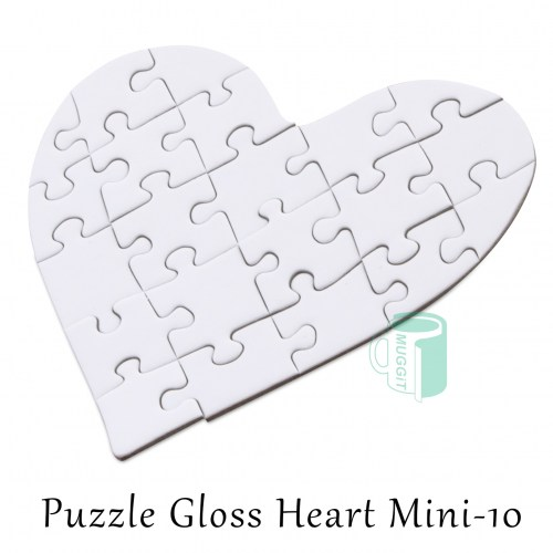 Puzzle Gloss Heart Mini-10